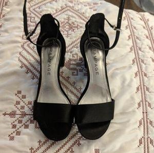 Rampage Black Pump Heels